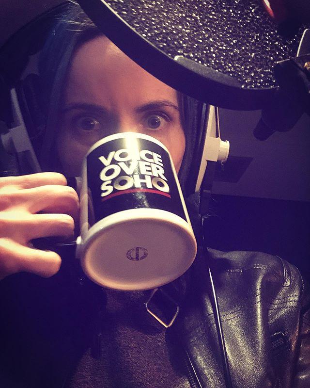 🎧 Mic Headphones Kwoffee Go! 🎧 #voiceover #voiceoverartist #recordingstudio #ontheair #voiceoversoho