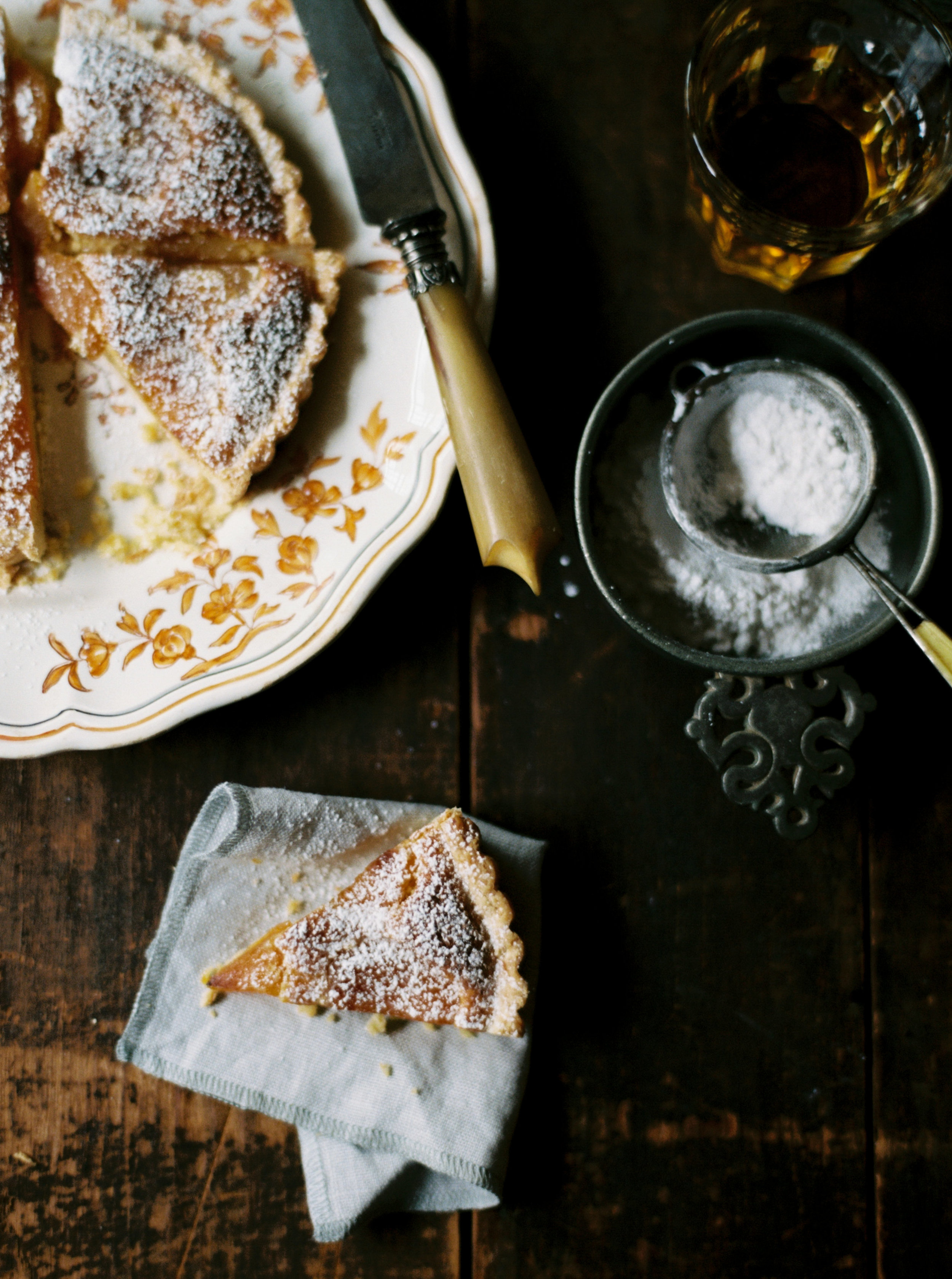 catrine-kelty-gabriella-riggieri-uncommon-feasts-linen-napkin-fall-almond-tart-recipe-boston-everyday-co