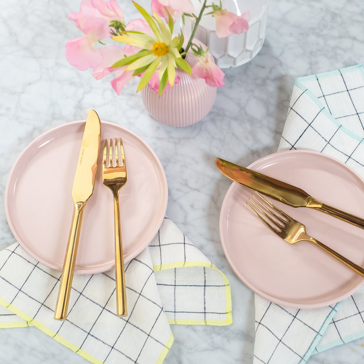 WINDOWPANE DINNER SET   | CLICK TO SHOP