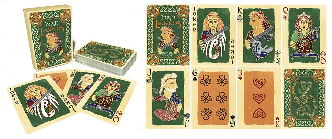 Irish Legends Playing Cards
