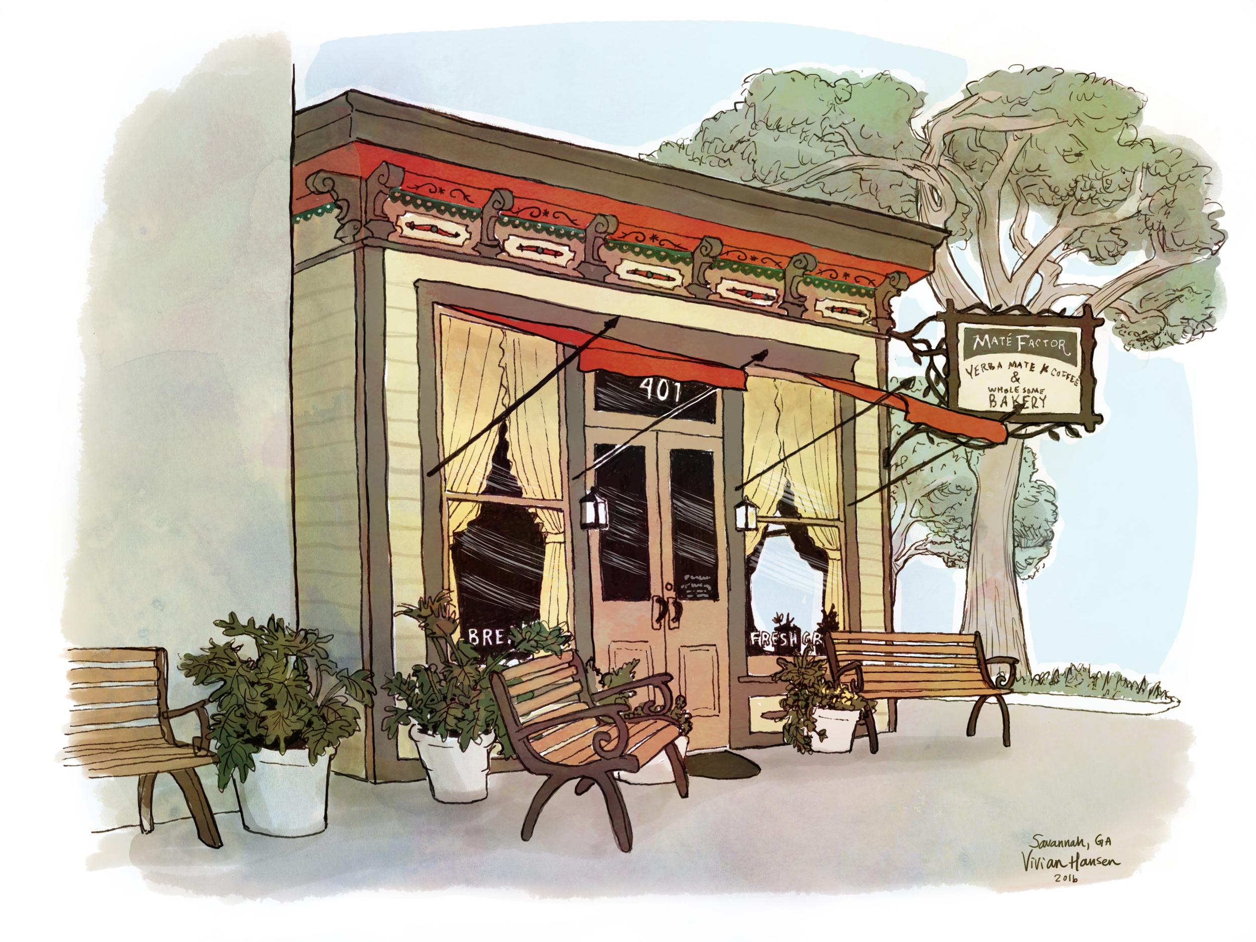 Maté Factor Café, Savannah