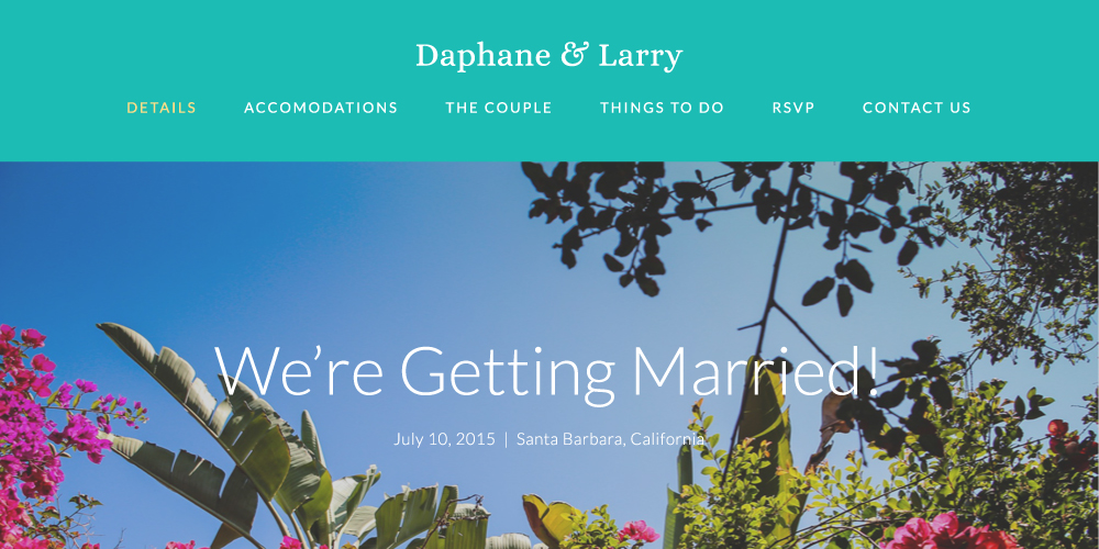 Daphane & Larry Wedding