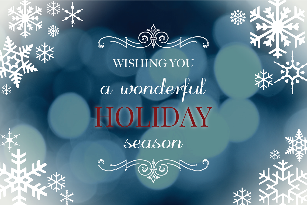 Happy Holidays Web Banner - Simone Design + Develop