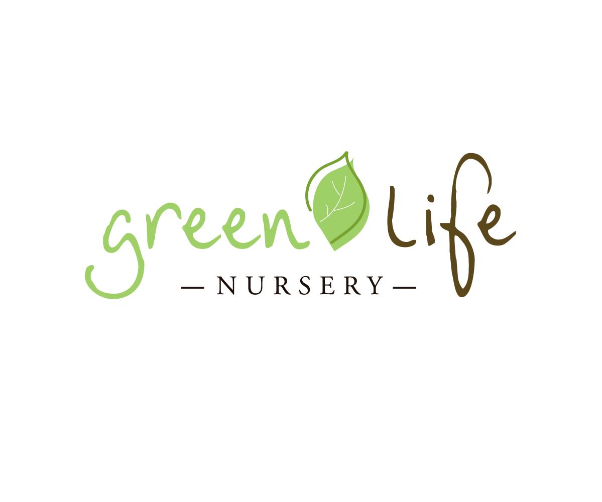Green Life Nursery Logo - Simone Design + Develop