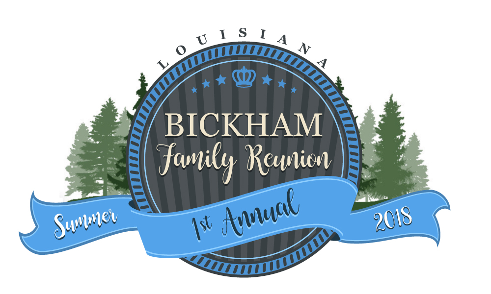 Bickham Family Reunion Logo - Simone Design + Develop