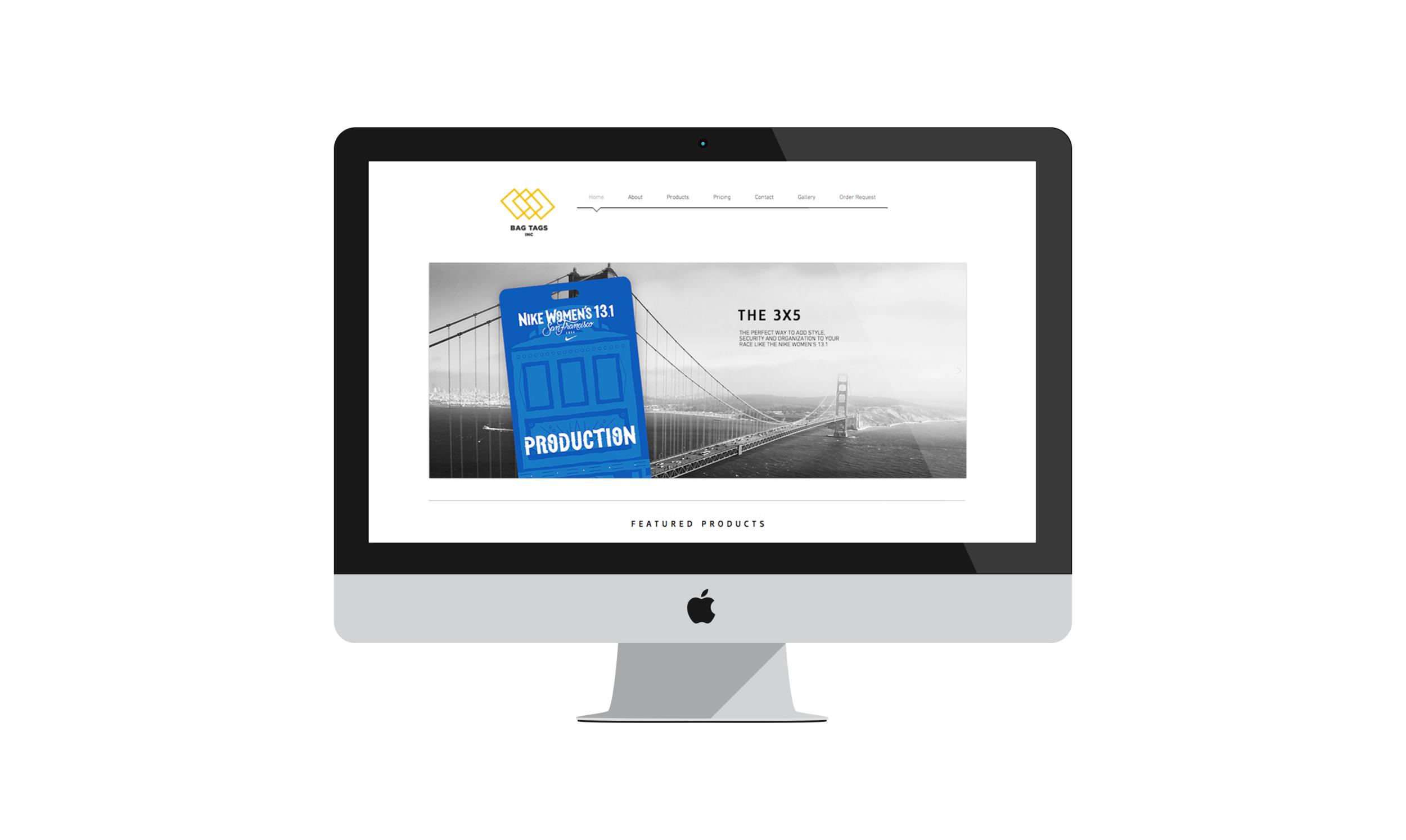 Bag Tags, Inc. Website