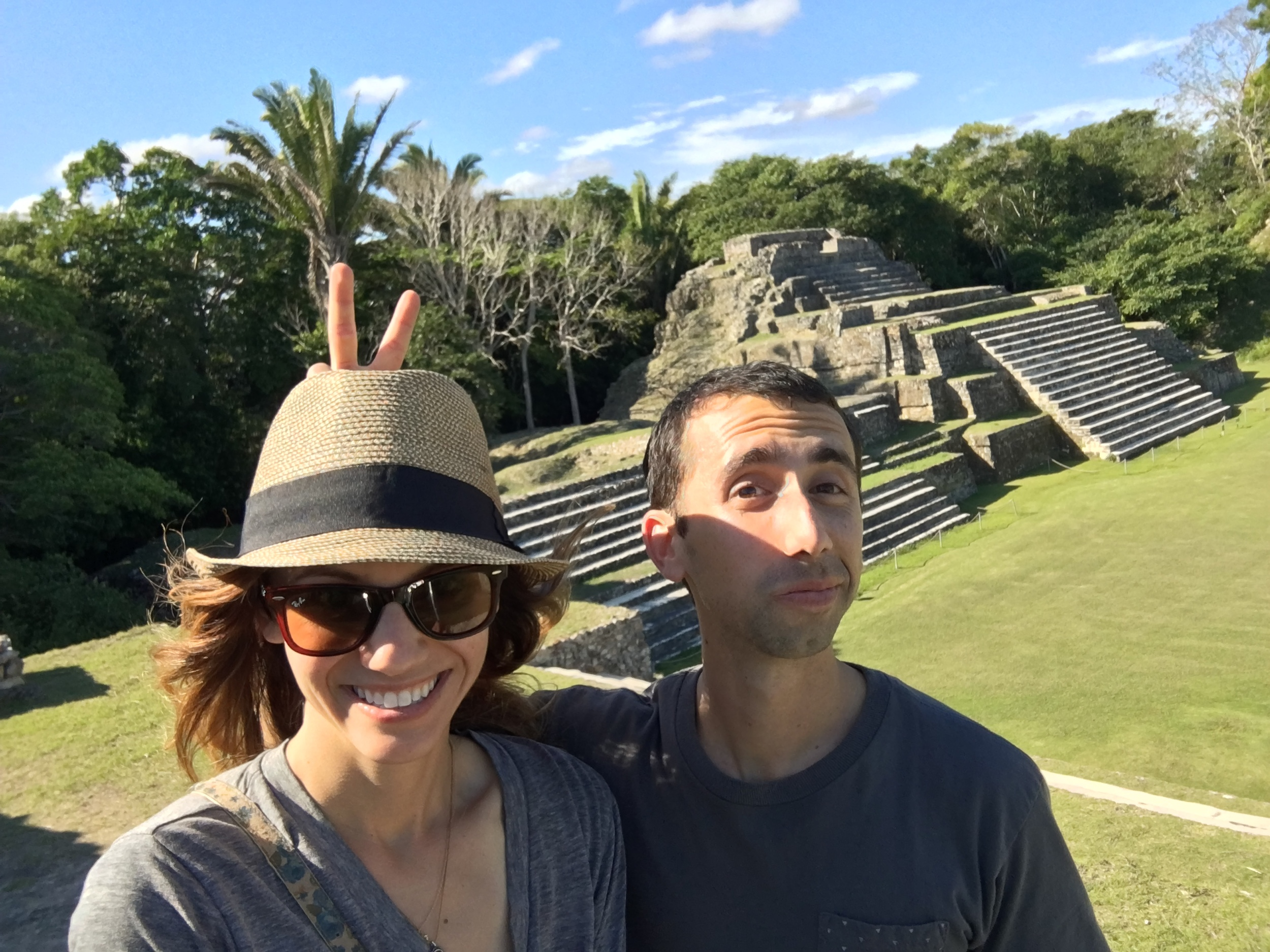 Altun Ha Mayan ruins