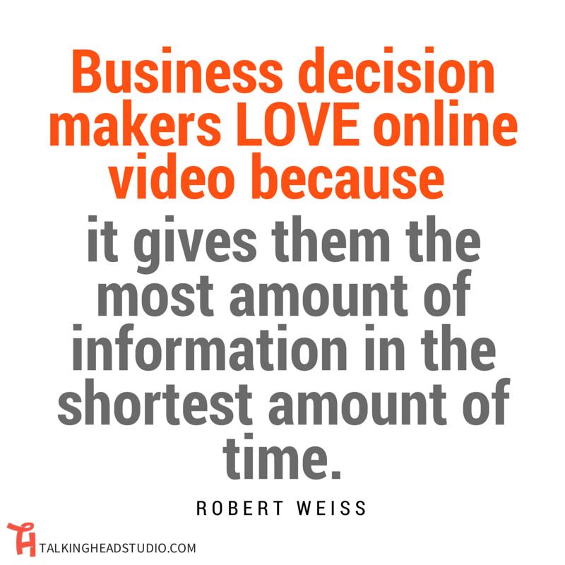 ONLINE VIDEO MARKETING Robert Weiss