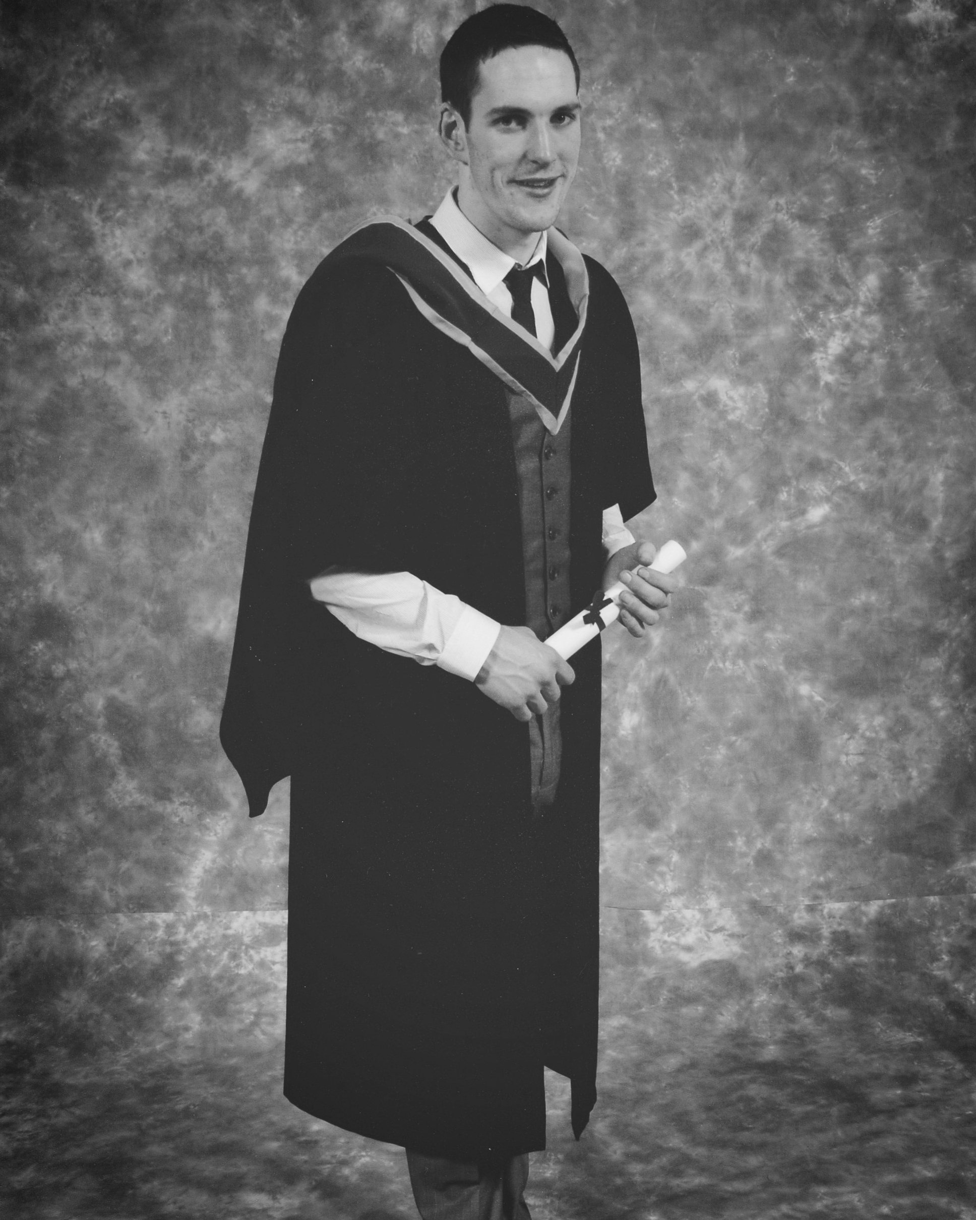 2011-Paul Graduates from Furniture Design and Manucture