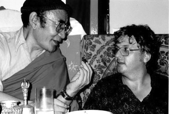 Karma Thinley Rinpoche and Lama Jampa Thaye, Shedrup Ling, UK, 1995