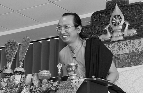 His Holiness 42nd Kyabgon Gongma Trizin, Ratna Vajra Rinpoche