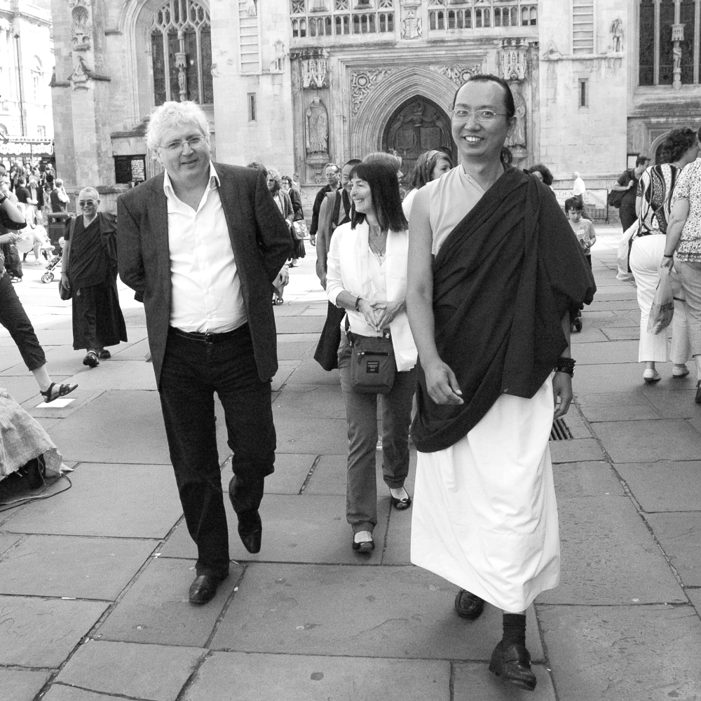 H.H. 42nd Sakya Trizin and Lama Jampa Thaye, UK, 2011