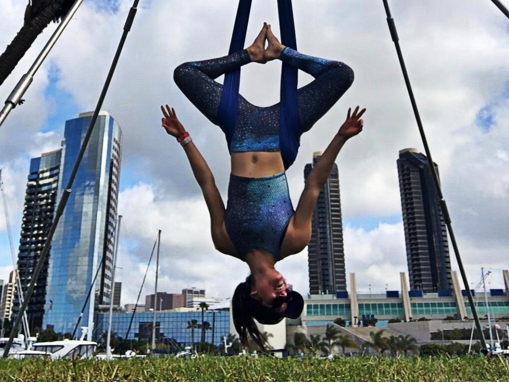 Jessica Shaw Aerial Silks - Read My Bio