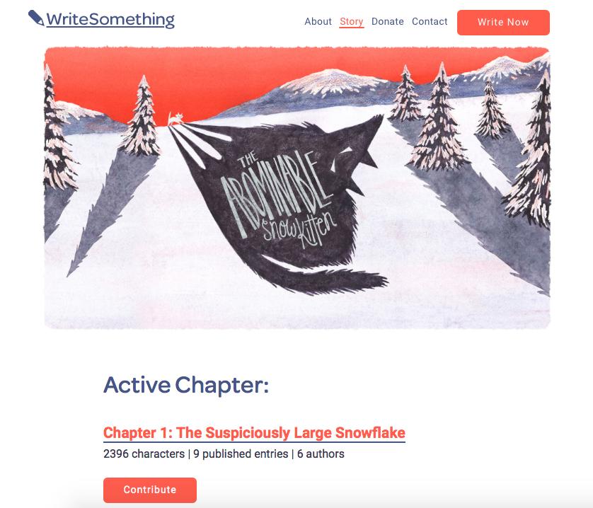 WriteSomething_website