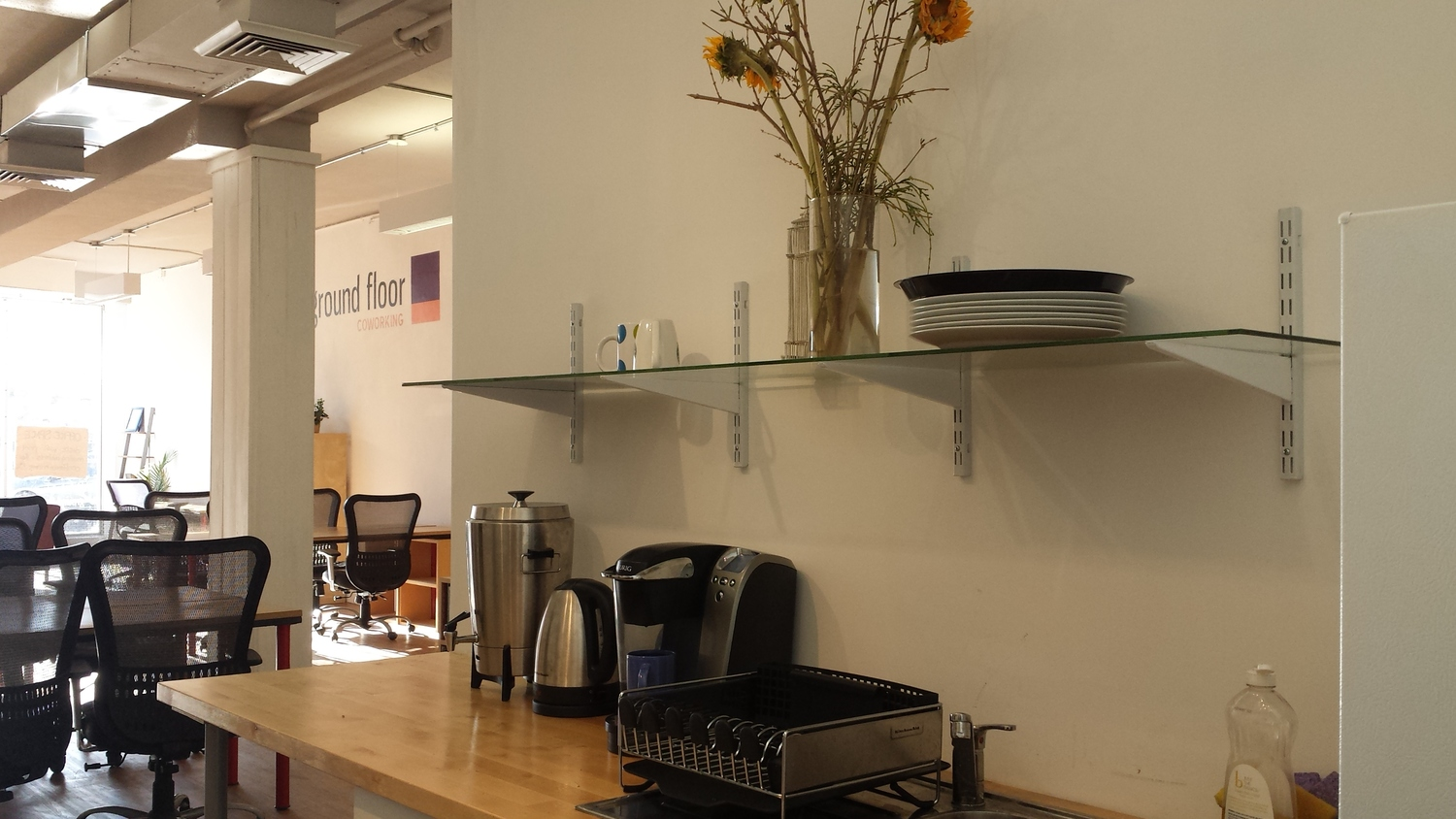 Our Offerings - - super fast internet-Community Kitchen- Event Spaces- Common Areas- On-site Printers