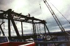 Reconstruction of Public Launch Boat Hoist in Port of Edmonds in Washington