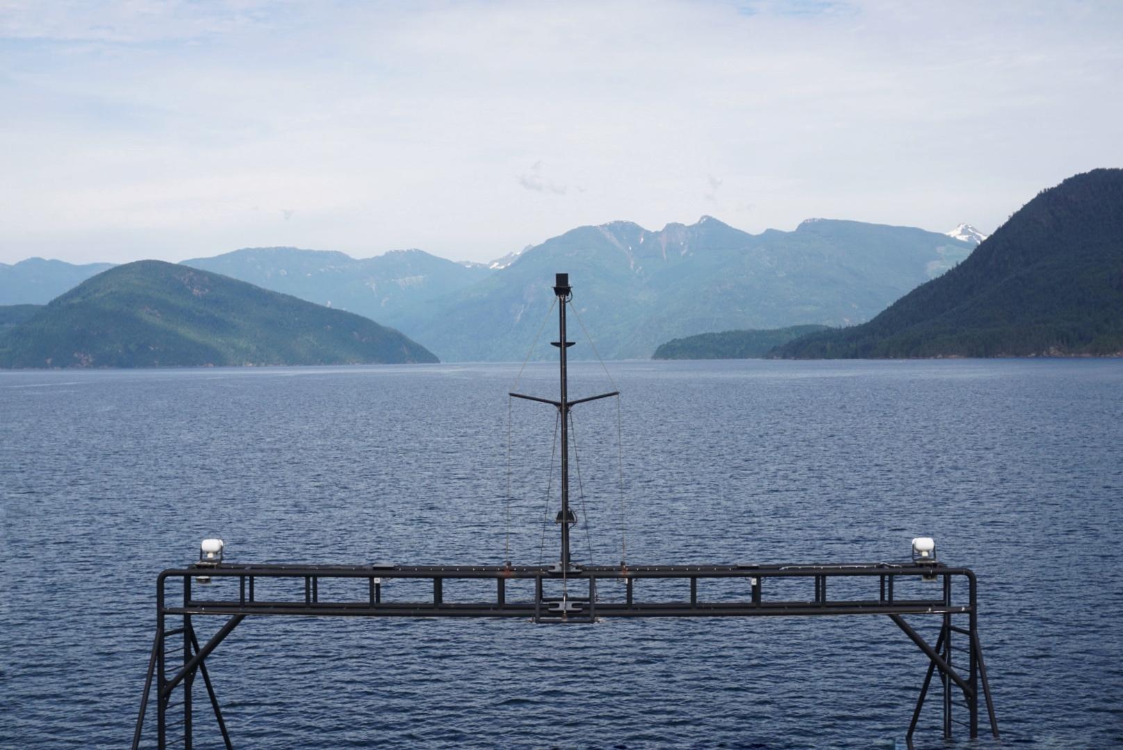 Beautiful ferry ride