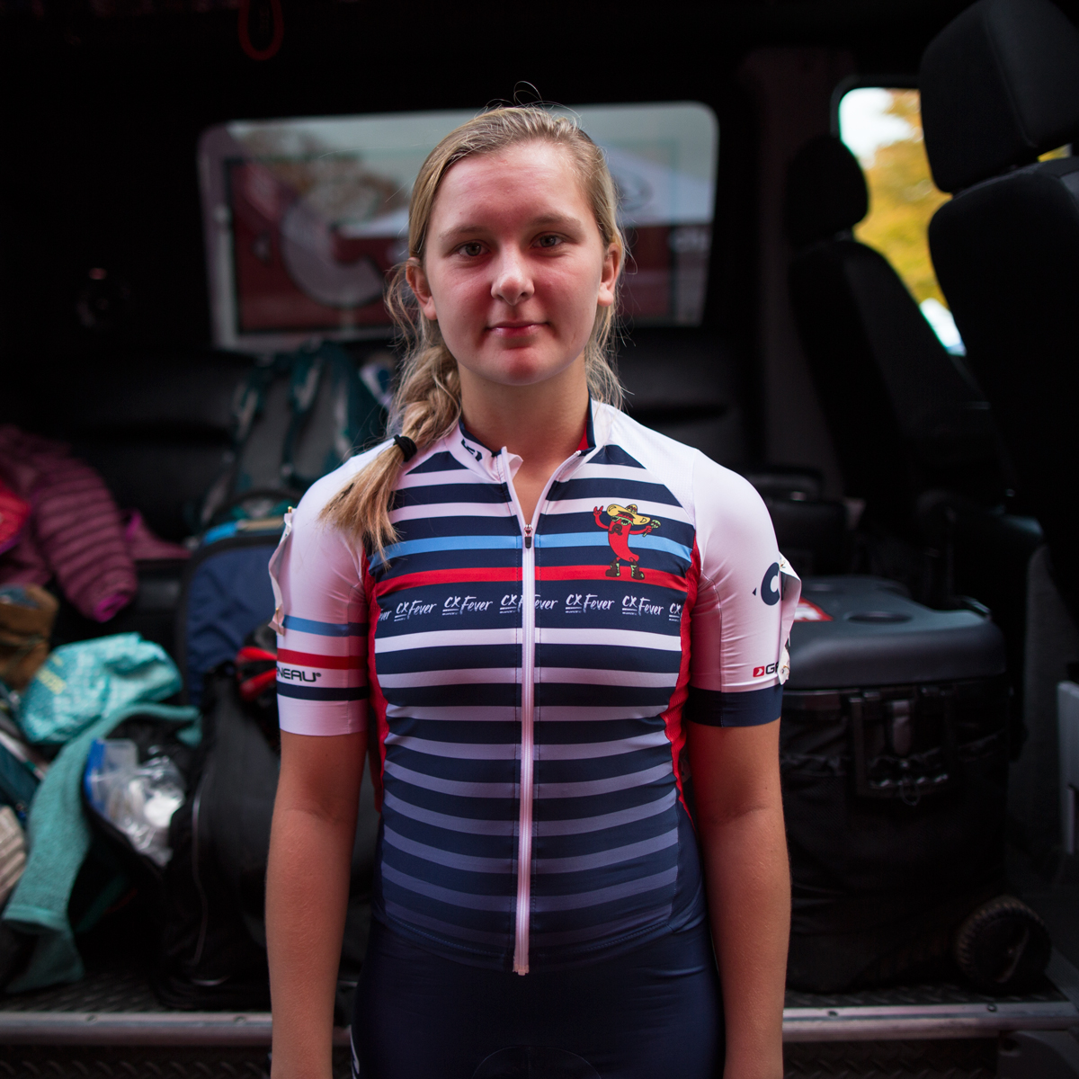 """I want to learn everything there is to know about the sport of cyclocross! Like I do in school, I really love to ask my coach, mentors, etc. questions about cycling. I think it's extremely important to utilize every resource available to you in order to excel in any given talent."" - Hannah Bauer"