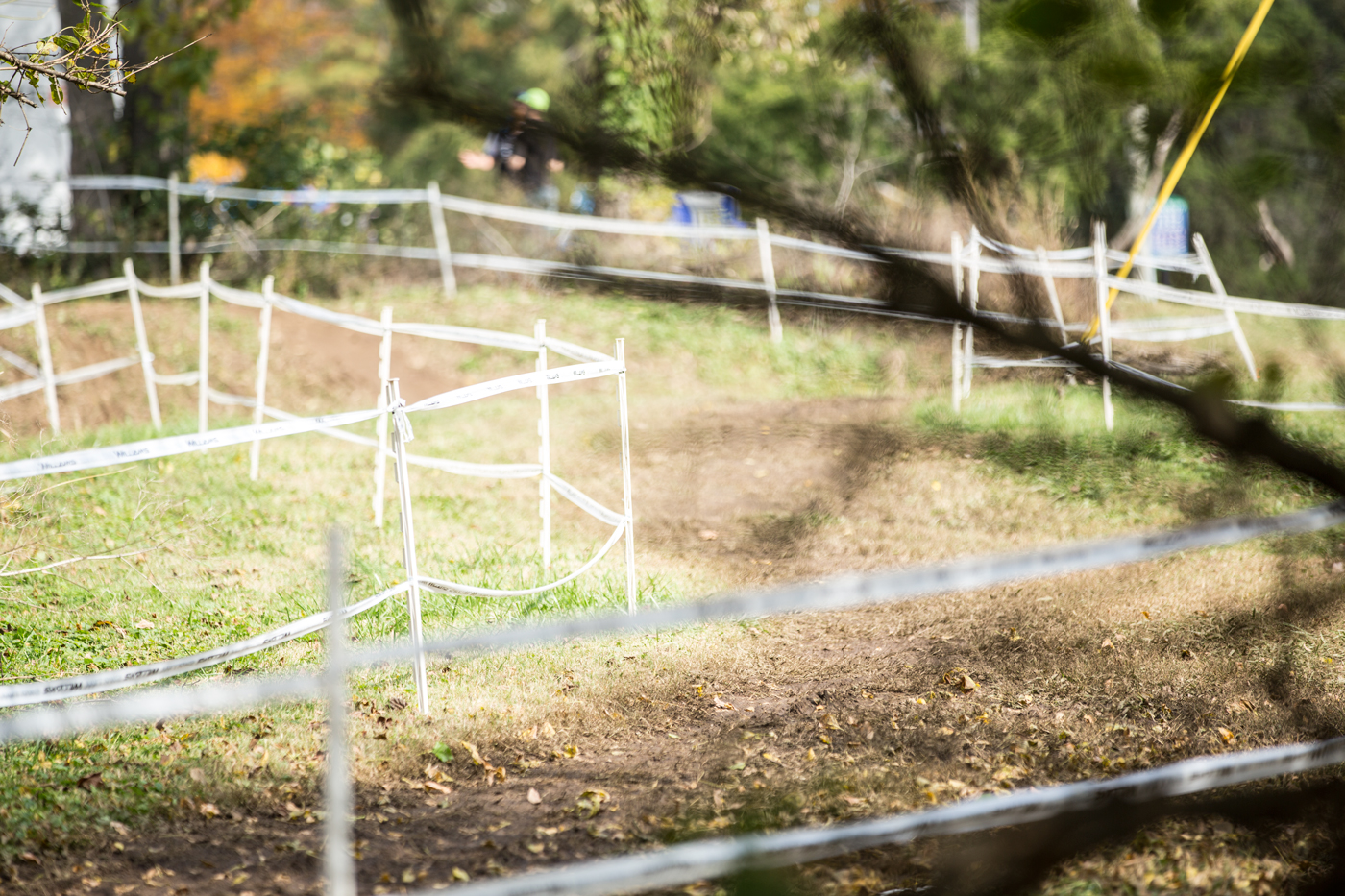 It may sound silly, but every time I go to a cyclocross event, I'm so happy and excited by the fact that some people took the time to create and map a course for us to ride on.I know that's the whole point of signing up for a race, but man does it make me feel lucky and giddy to get on it and practice!