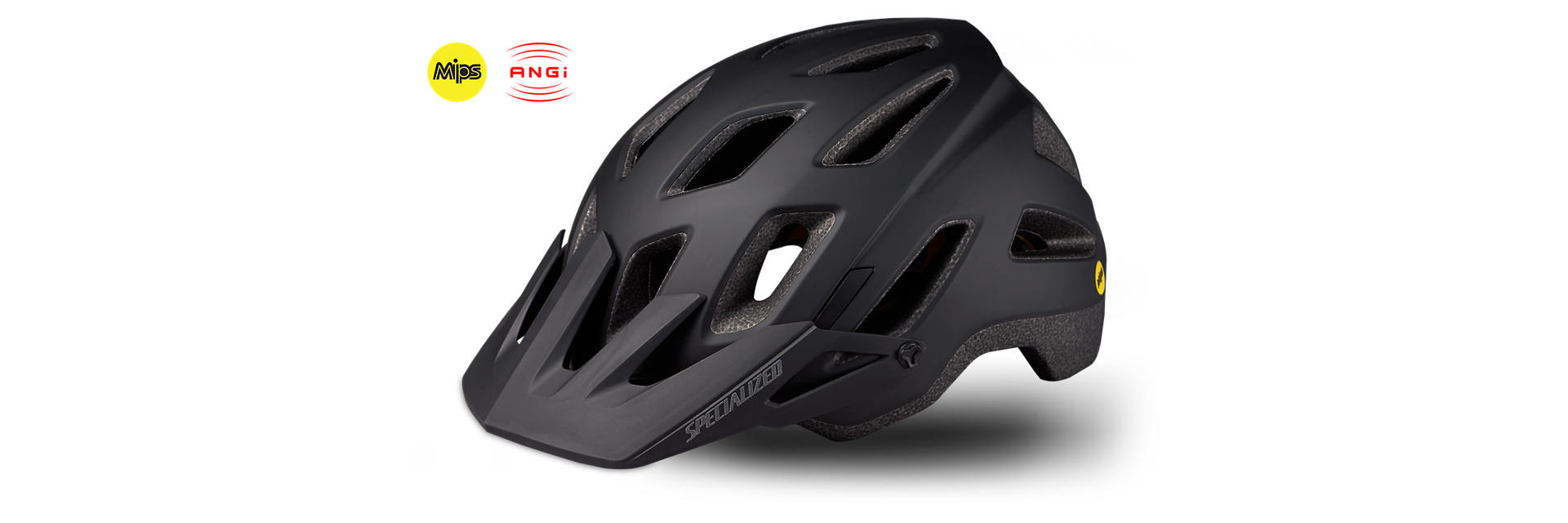 ANGI Helmet - This is the smartest thing I've ever seen. Basically, you are buying peace of mind and security. This helmet not only keeps your head safe, but keeps your family knowing if something happens. The technology comes in MTB or Road helmets.