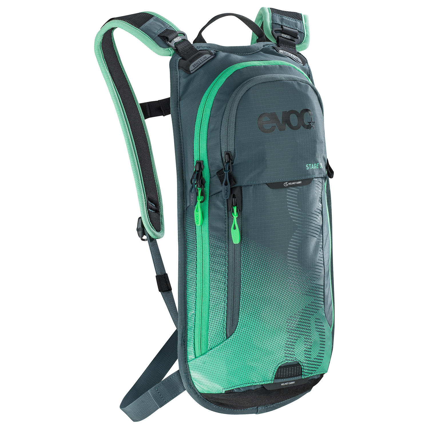 Stage 3L Hydration Pack - If you like riding for a few hours and want to make sure you have enough water and snacks, without breaking your back under the weight of a huge pack? This may be your new best friend.