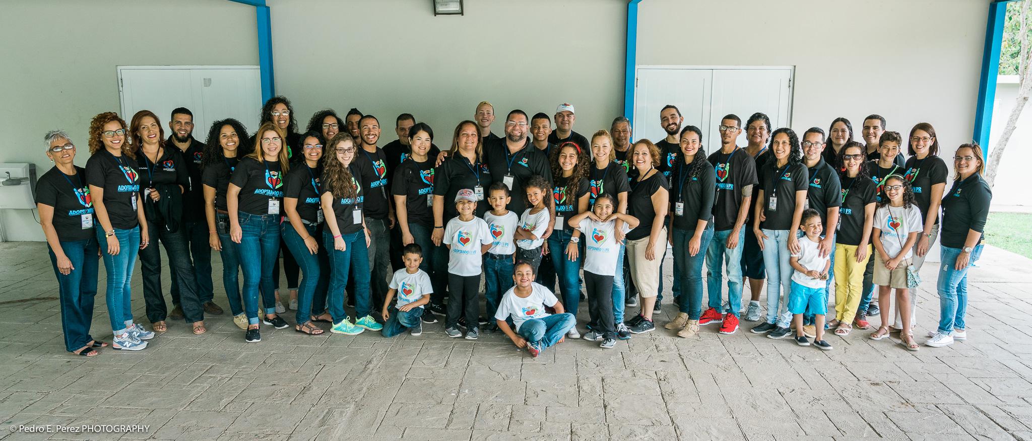 Grupo de voluntarios de nuestra 2da Conferencia Nacional 2017 en la Iglesia Bautista de Glenview, Ponce.  Group of volunteers from our 2nd National Conference 2017 at the Baptist Church of Glenview, Ponce.