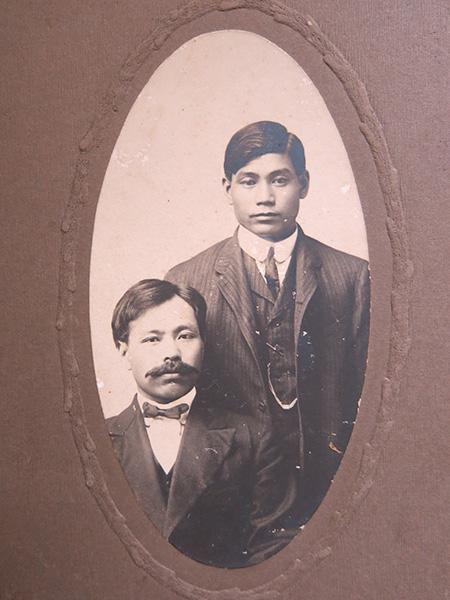 Zenkichi and (Nisaburo?)