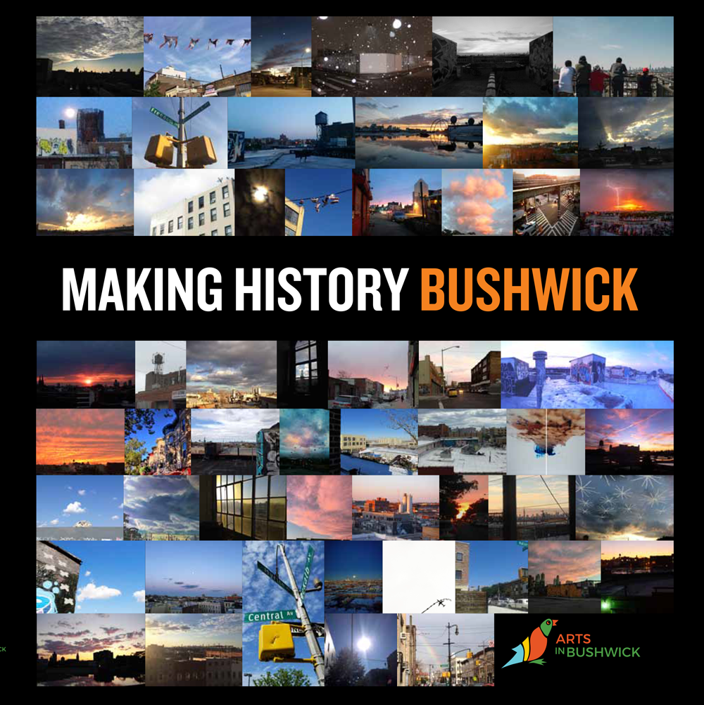 Published Book:  GentrifiConversation Acknowledging Complicity: Actions to Mend & End Arts-Induced Mass Displacement of Black & Brown Low Income Families,  Anthology by Anthony Rosado in  Making History Bushwick  by Arts in Bushwick