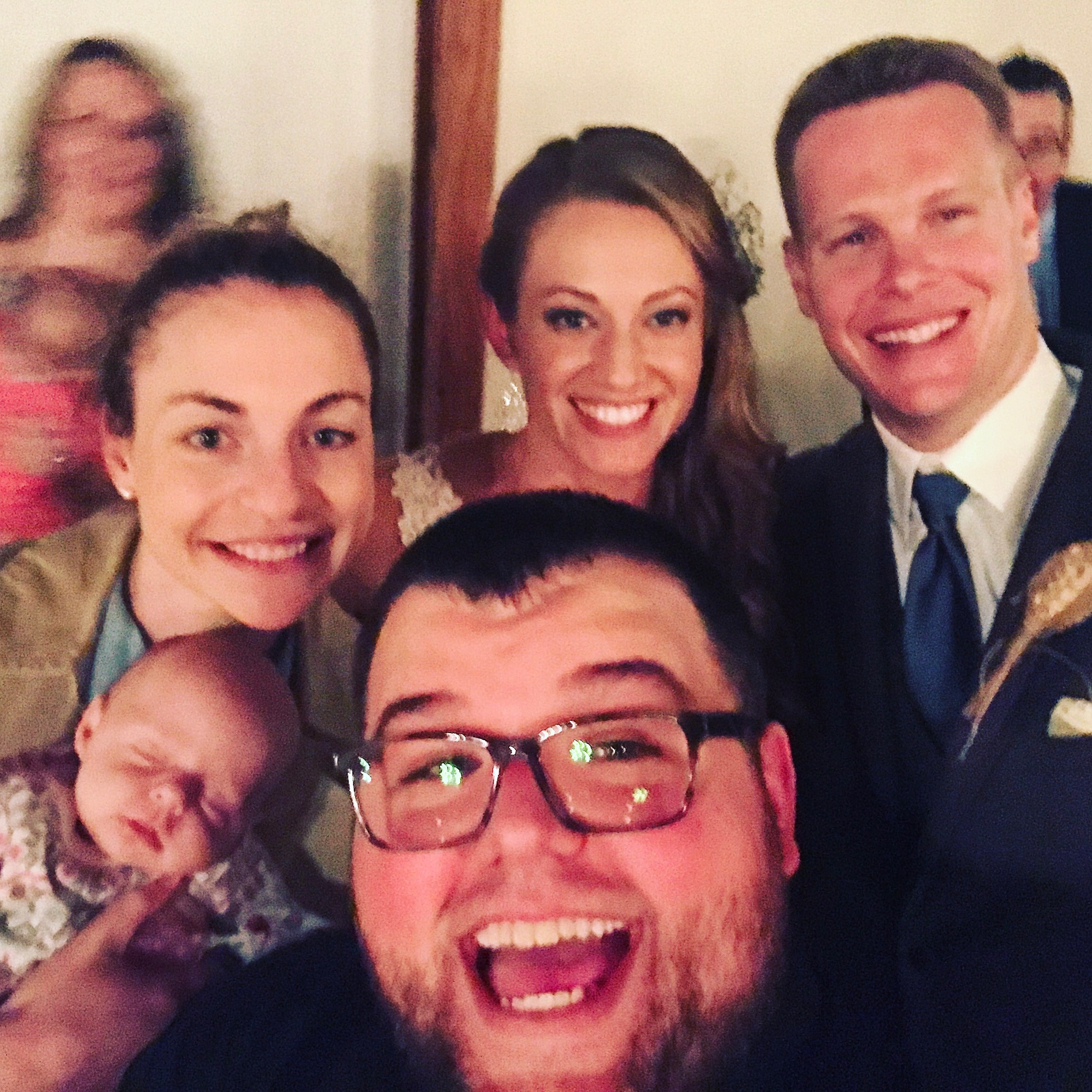 We got to be a part of Susanna Roberts' wedding in January.