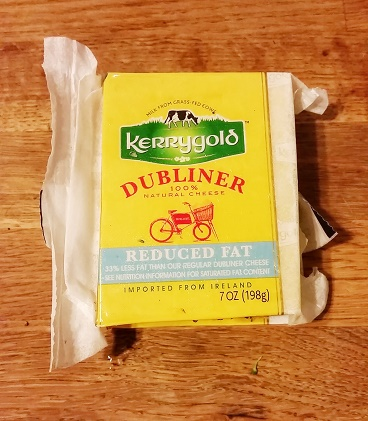 Kerrygold, my kryptonite. Iused reduced fat in this recipe because we're trying to keep our calories low.