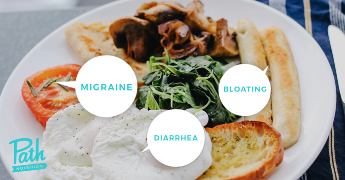 Food Sensitivities cause many different symptoms.