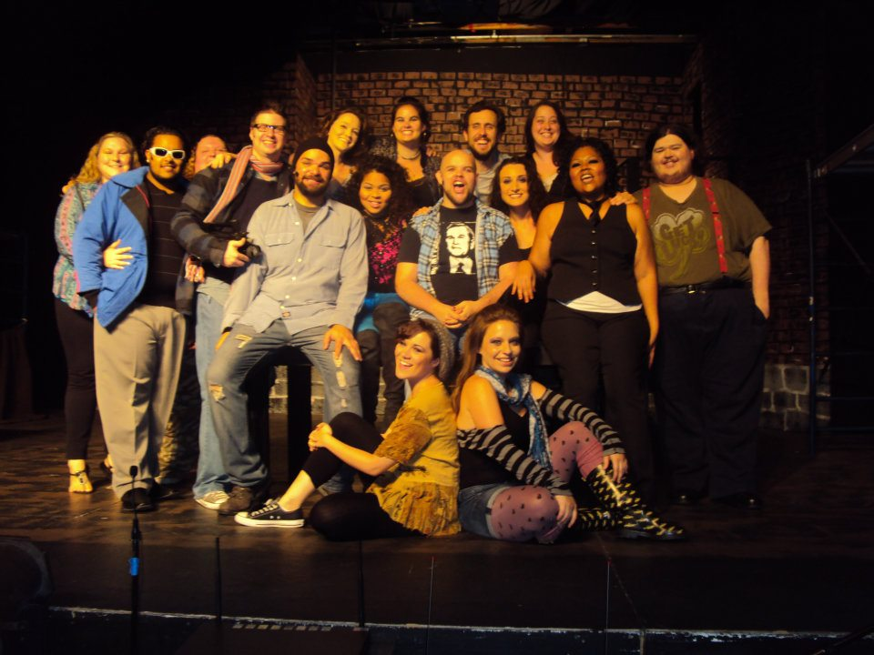 Cast and crew of RENT