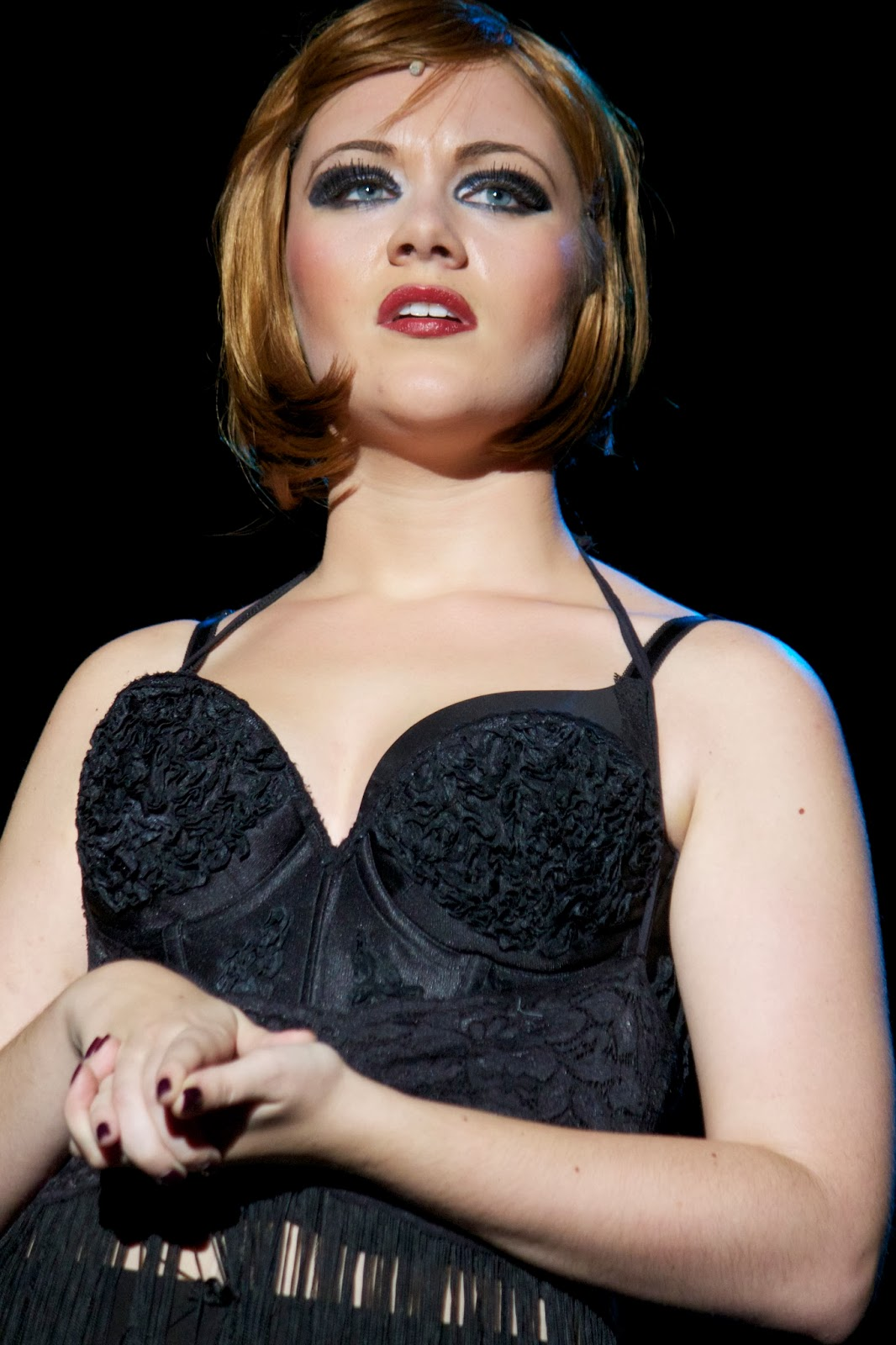 """Nicole as Roxie Hart in """"Chicago"""""""