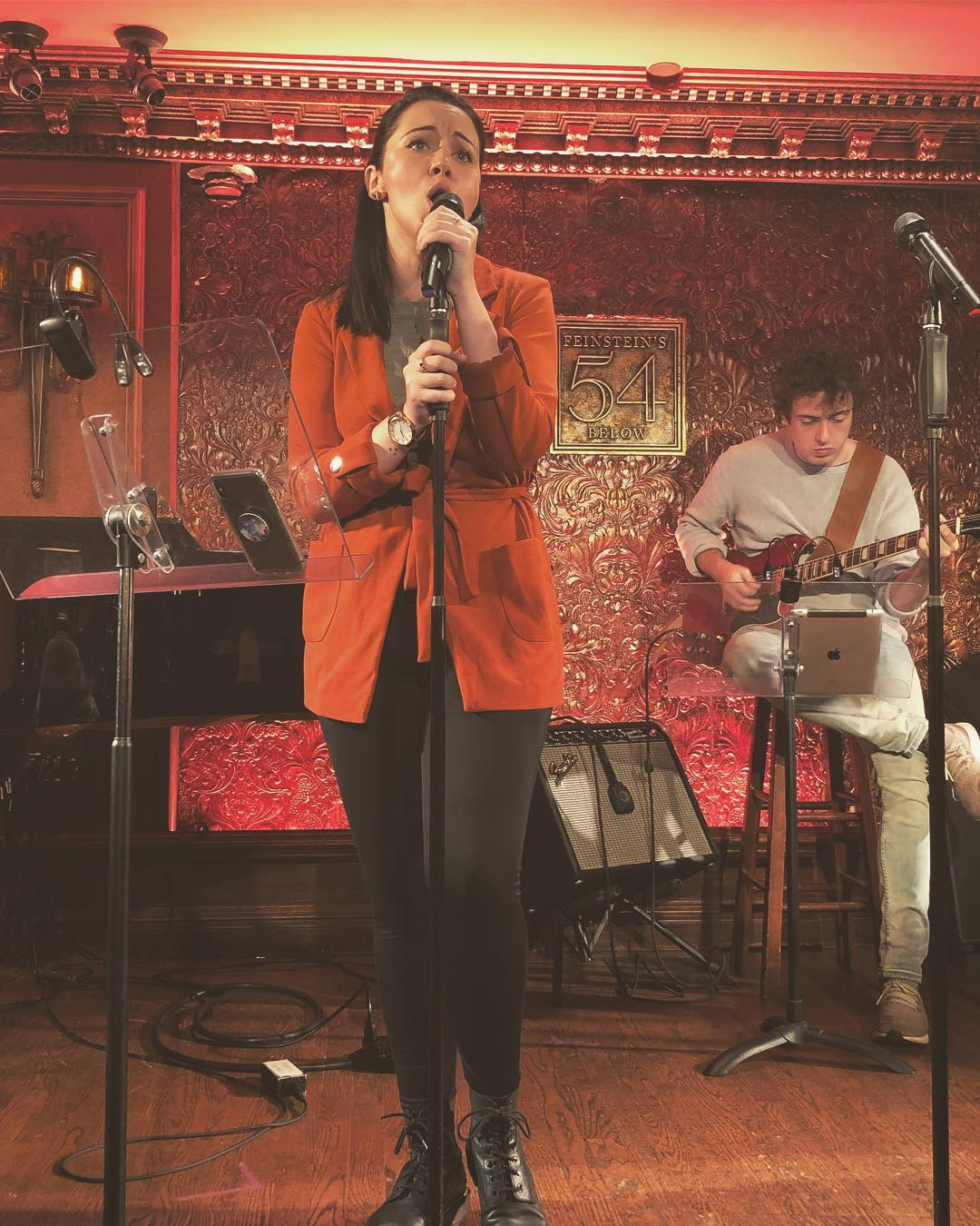 54Sings ABBA - November 9th, 2018, Nicole was a part of the 54Below cast to sing ABBA!