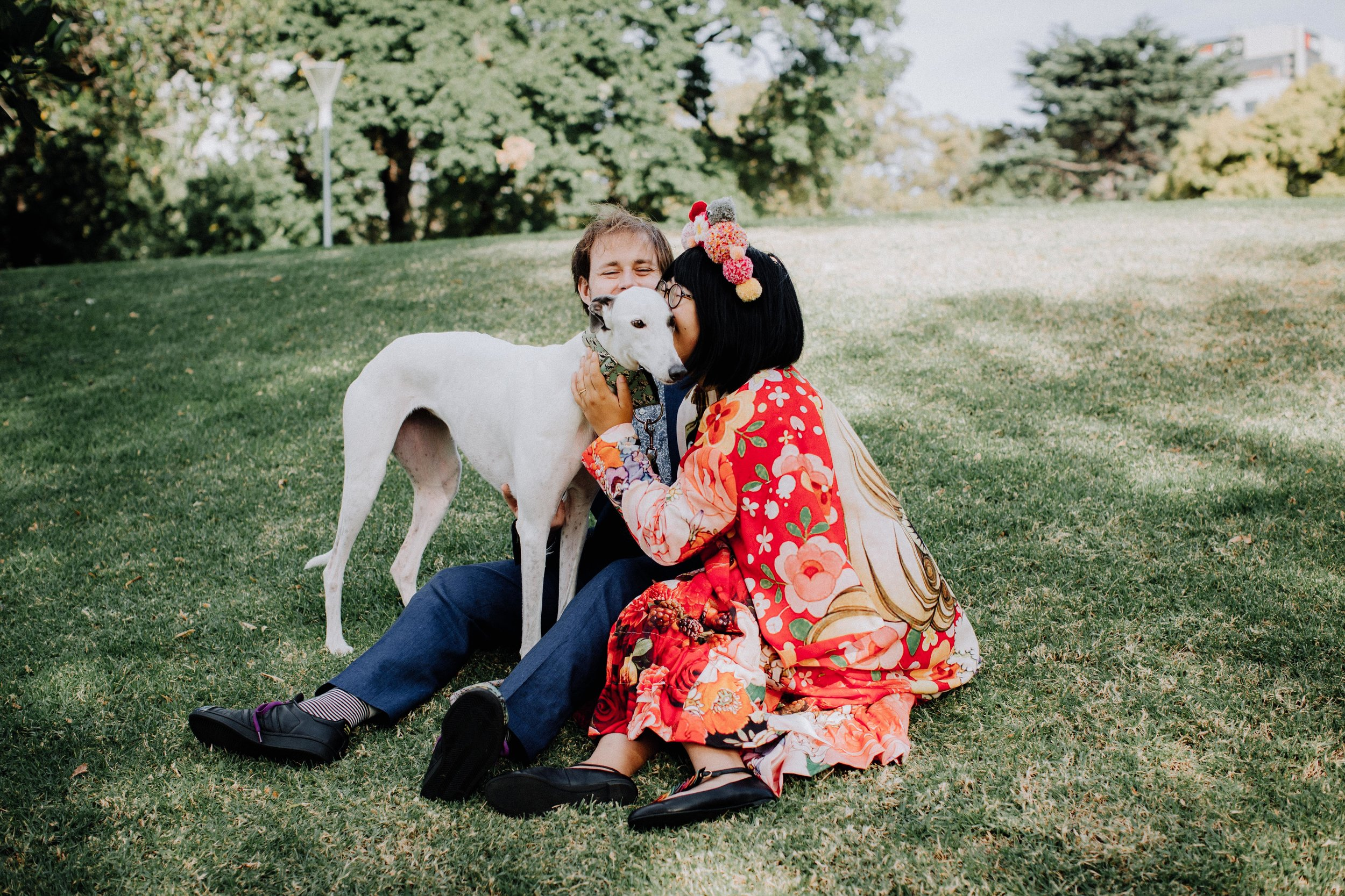 Engagement/couple shoot    Just want a bunch of cute photos together? Amazing. An hour and a half portrait session. Bringing your pup is highly encouraged.    $350