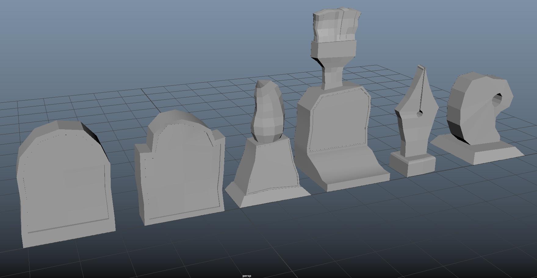 Tombstone Models