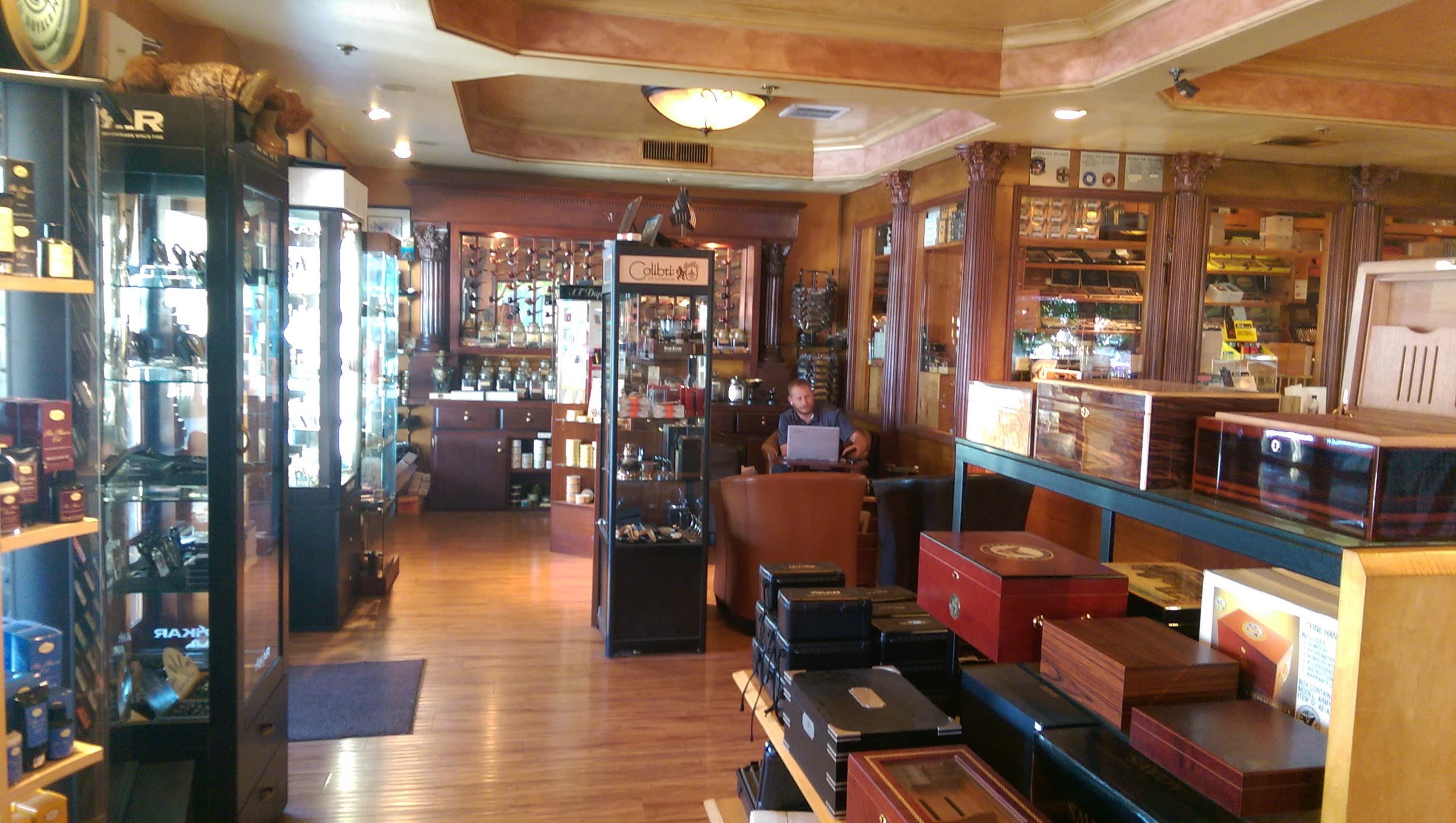 We stock a full line of Colibri Cutters and Lighters,  xikar lighters  and  Xikar cutters  as well as  Diomond Crown humidors  and  Brizzard and Co.cigar accessories .  Come in and check out your new favorite place to hang out!
