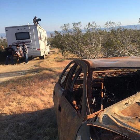 Always enjoy filming Desert scenes #DP #DoP #filmmaking #video #movies #cinematographer