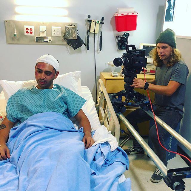 A very sad hospital scene we've filmed earlier this year #hospital  #filming #dp #dop #movie #cinematographer