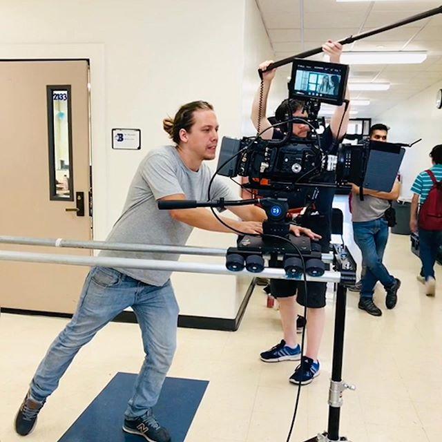 It was a very fun project! #filmmaking #movies #filming #camera #bm #ursaminipro