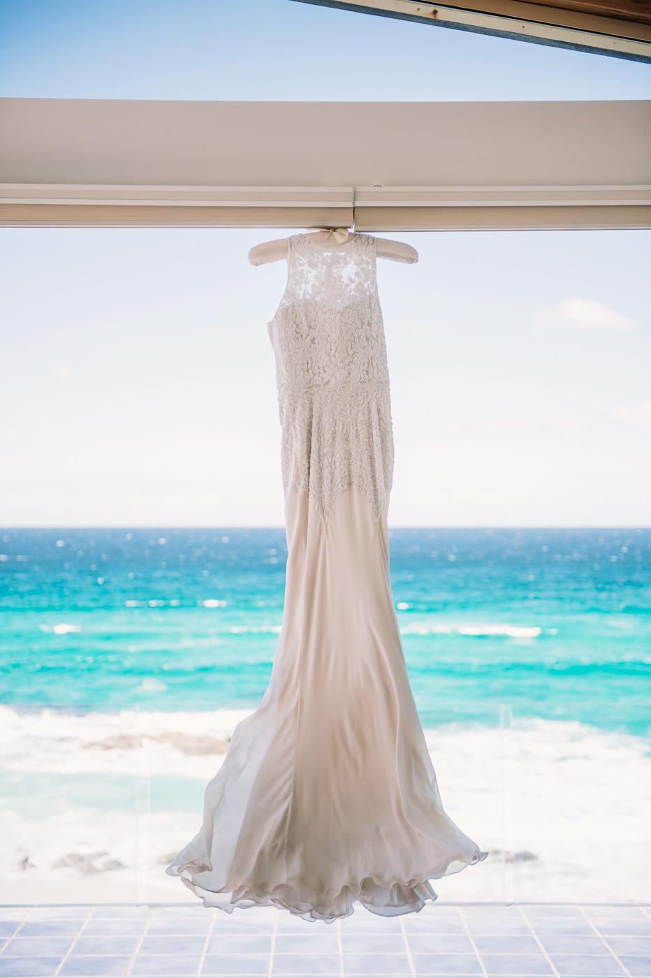 Rachel Gilbert wedding gown