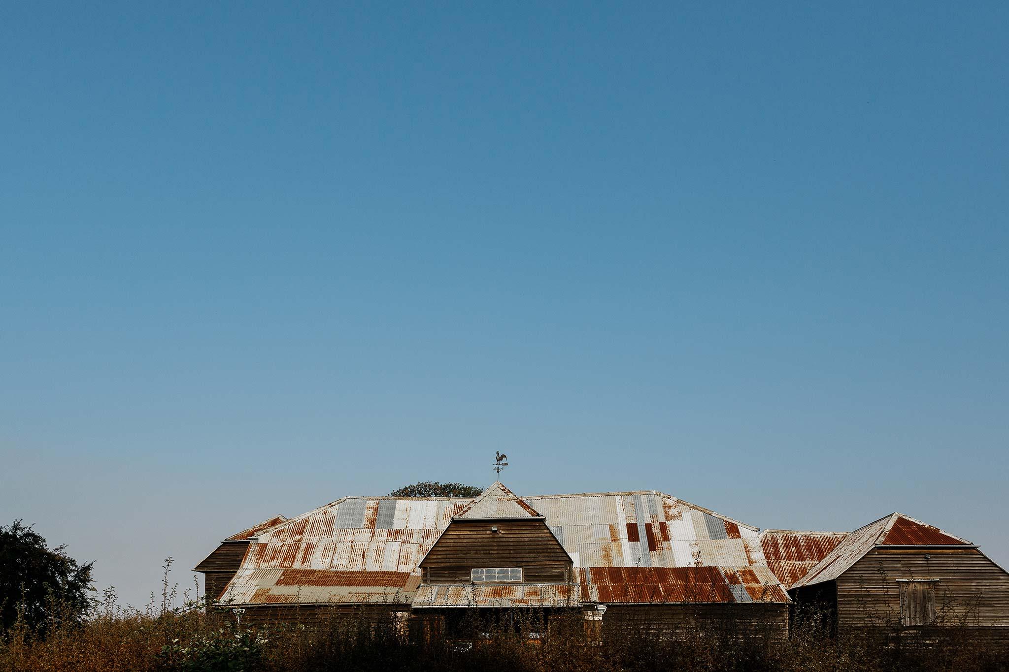 Historic Brickendon barn