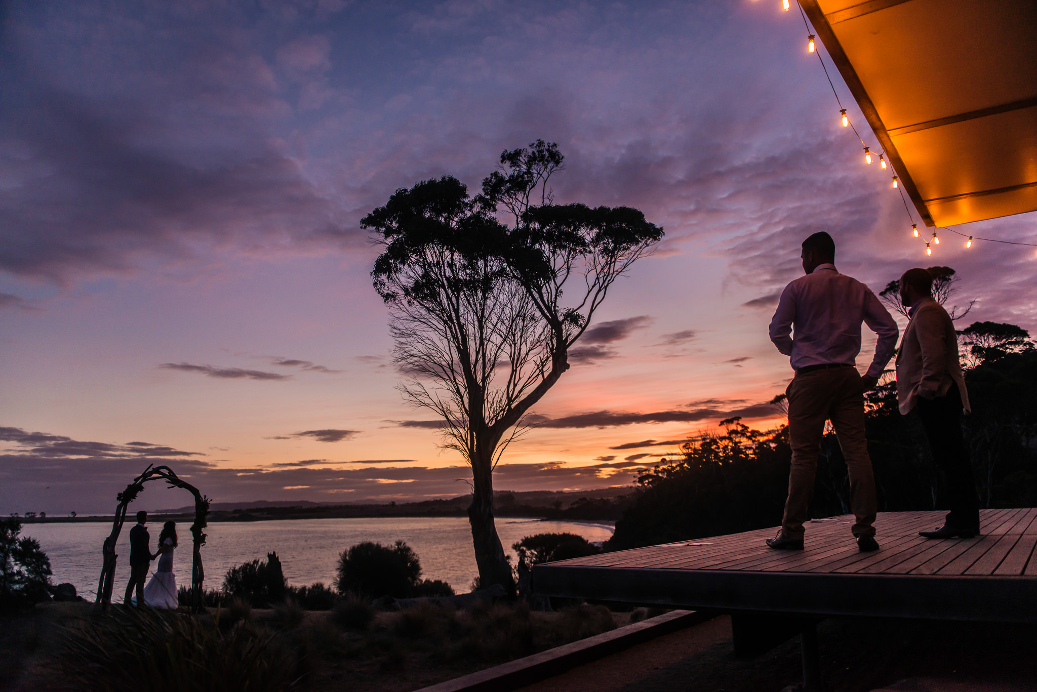 Spectacular sunset at Avalon