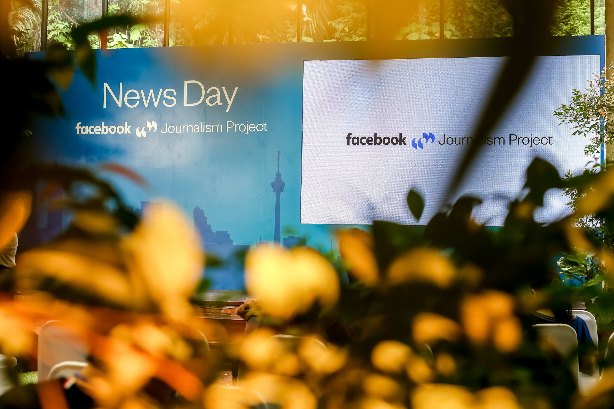 Facebook presented their  Journalism Project introducing attendees to tools and platforms readily available to increase news literacy and authenticity.