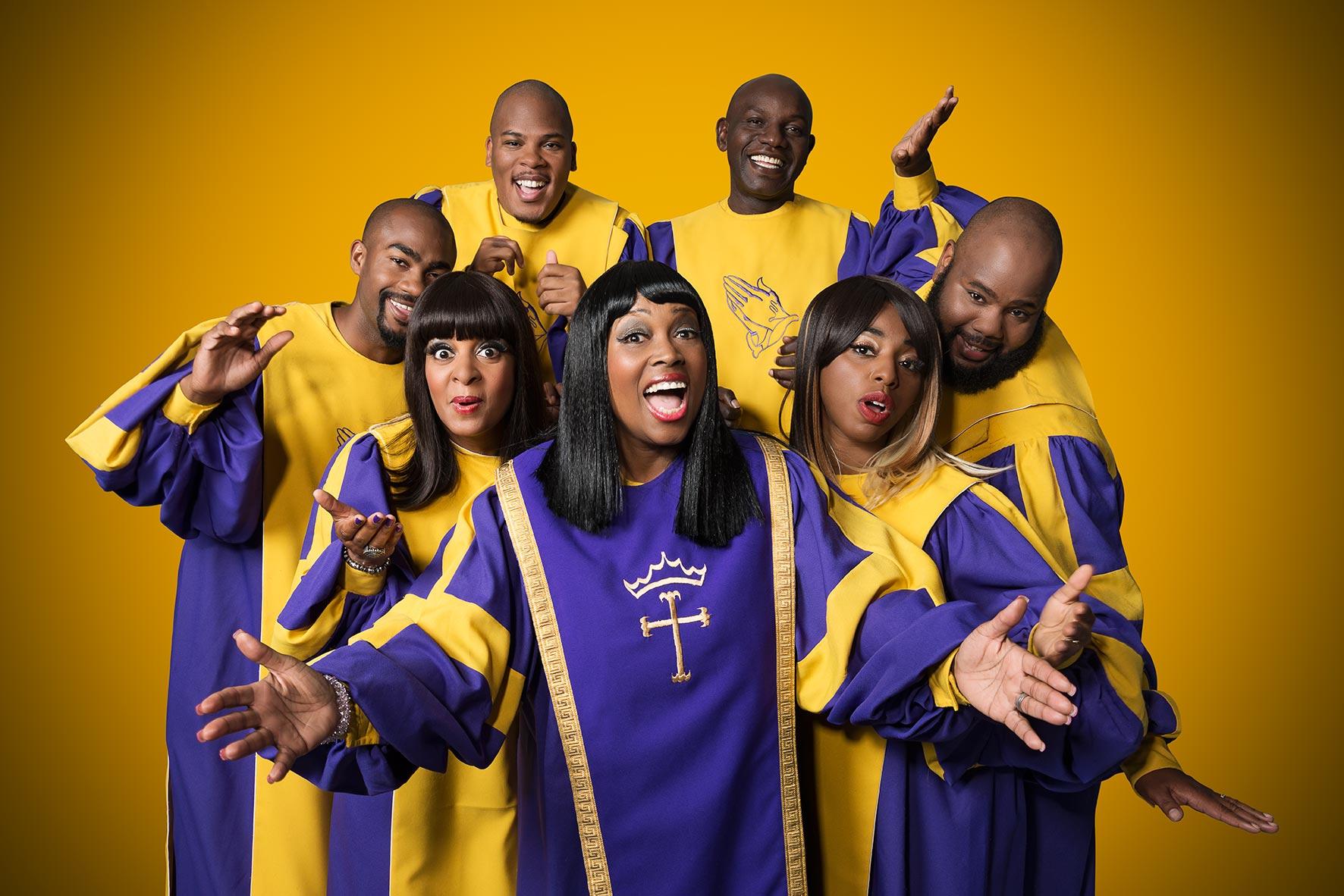 Glory Gospel Singers aus New York, Plakatmotiv