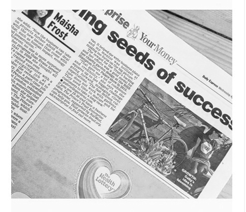 Gabrielle Shay landscape designer and Prince's Trust ambassador. Interviewed for the Express. April | 2017   Article link