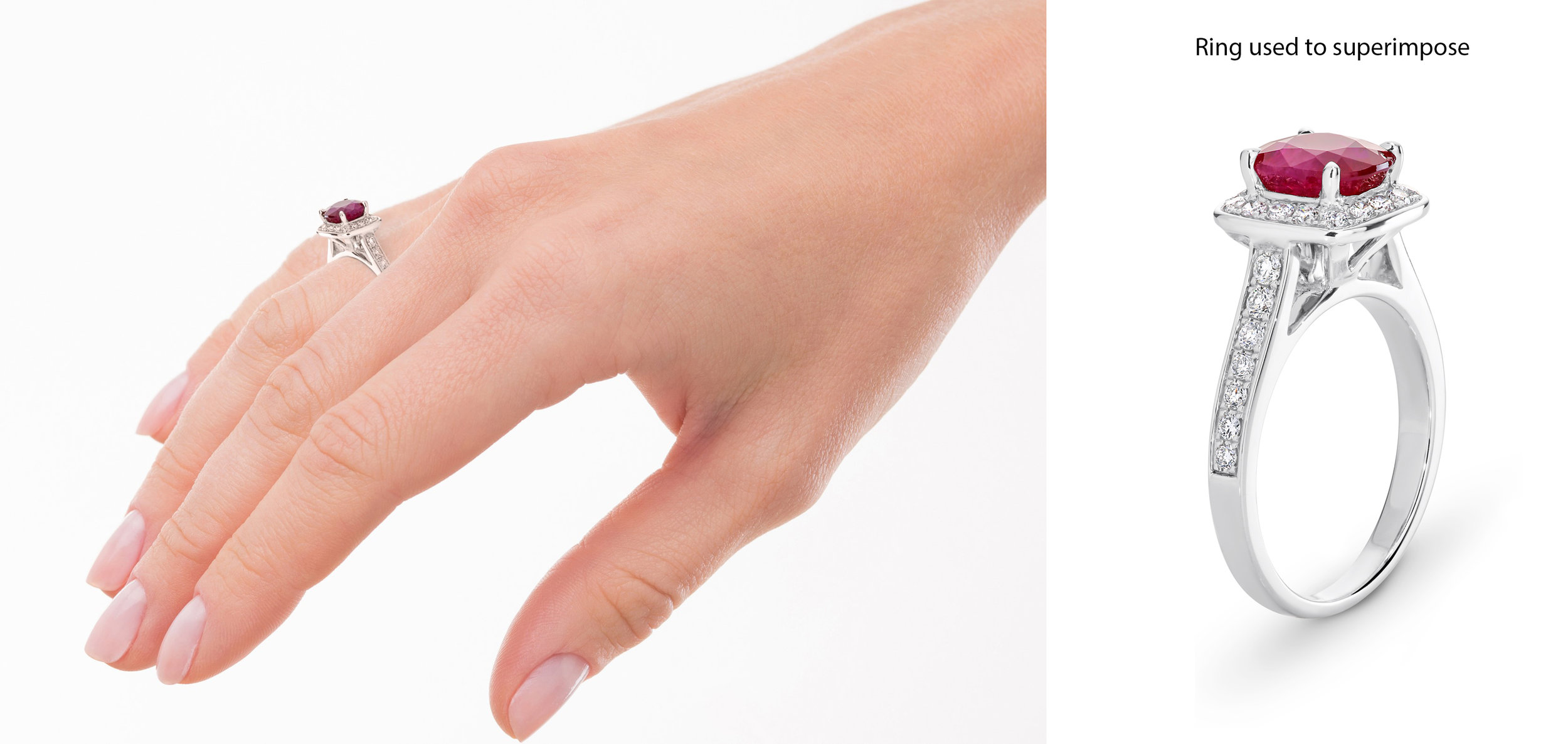 Copy of Woman's hand as if holding something