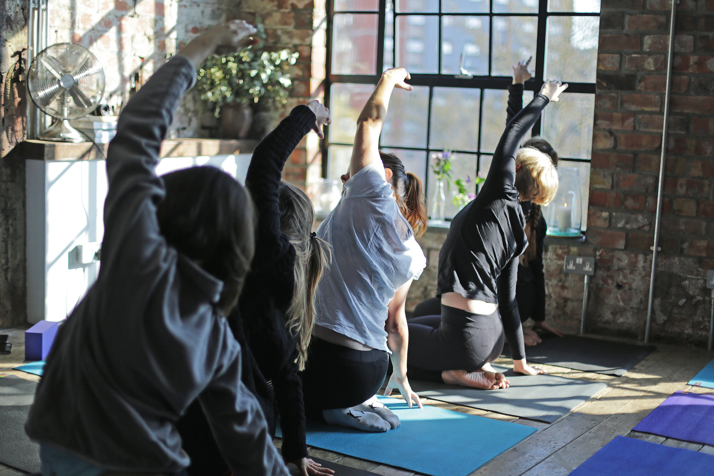 Yoga Brunch Club - X Dela Bristol, @The Forge, February 2018