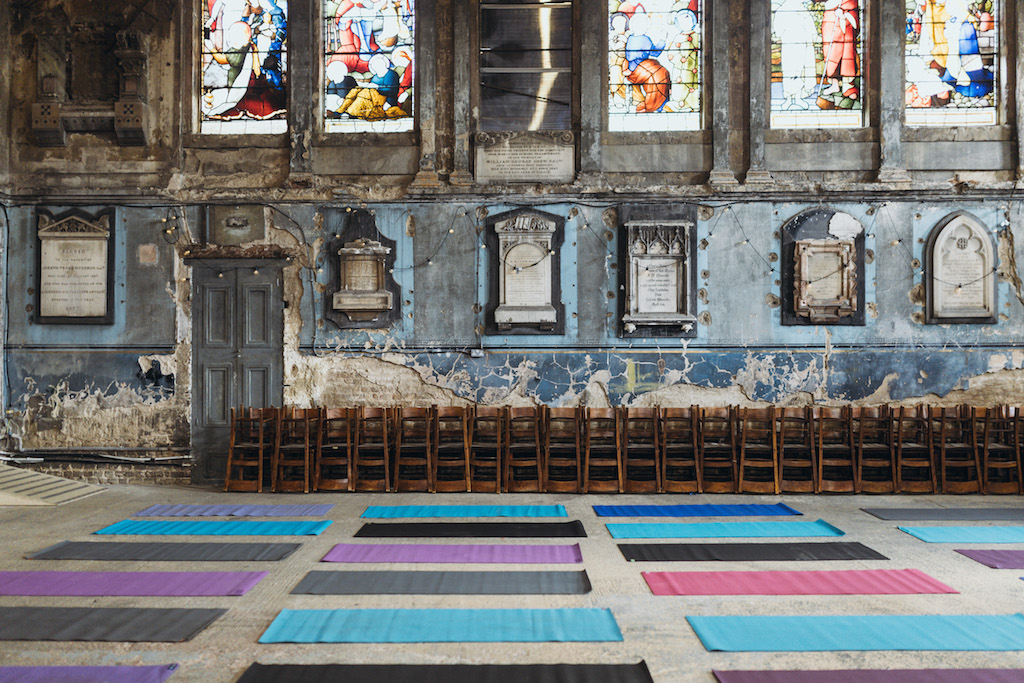 Yoga Supper Club - X Lauren Lovatt @The Asylum, Peckham