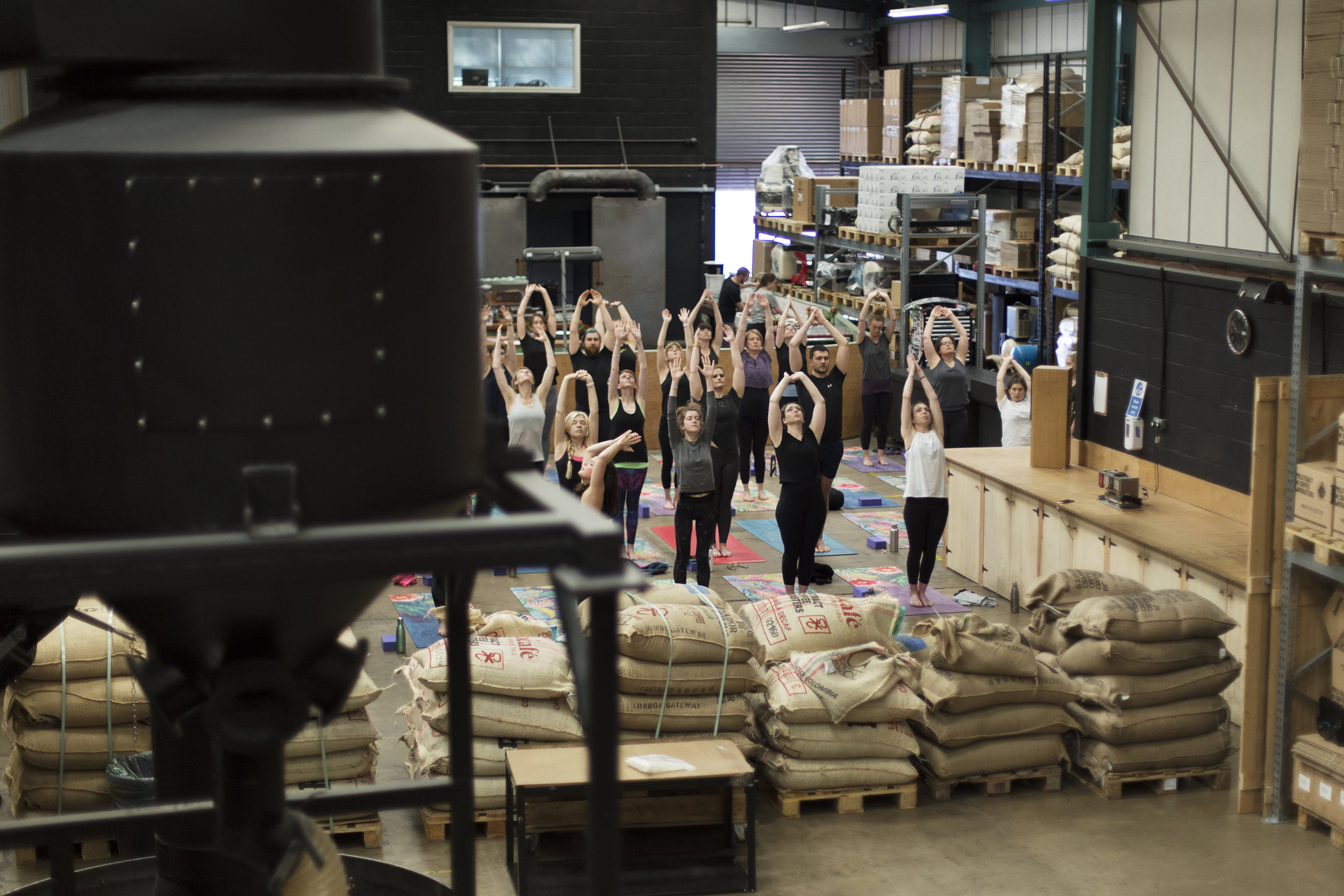 Yoga Brunch Club x Extract Coffee - & Bakers&Co with Bristol Food ConnectionsJune 2019